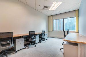 シンガポールレンタルオフィスの家具付き個室オフィスのイメージ